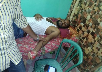 Blood Donation by a Member of Anirban Blood for Life