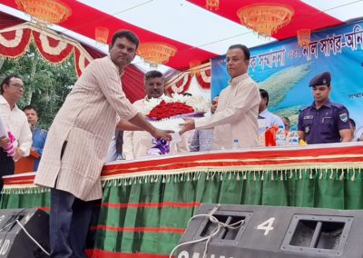 DIG Khulna Range in a programme as Chief Guest
