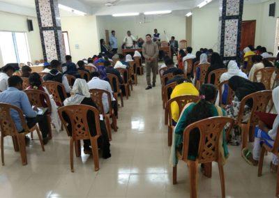 Exam for Moniruddin-Anirban Scholarship is going on
