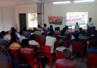Meeting with Farmers