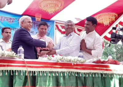 Mr Tapan Chowdhury in a programme as chief guest