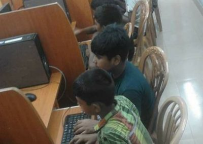 Students are in IT Lab